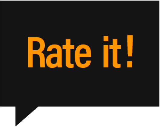Rate It! product review website logo