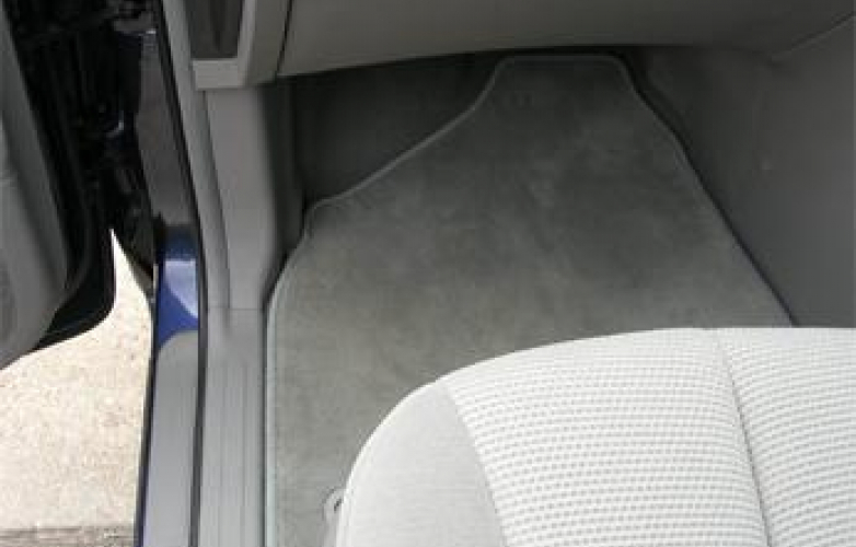 Passenger side - footwell