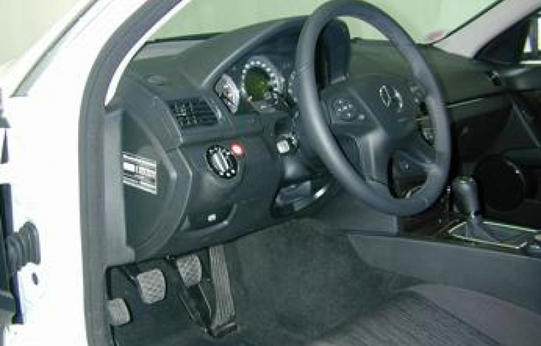 Driver side - steering position