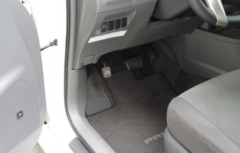 Driver side - footwell