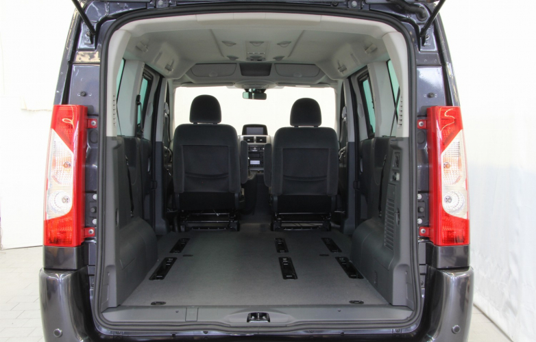 Boot with seats removed