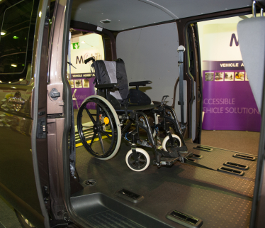 Wheelchair accessible vehicles (WAVs)   RiDC